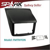 AD Double Din Facia Panel Kit Fascia For Mitsubishi Triton ML-MN GLX-R 2007-2014