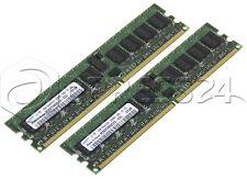 Speicher Set Samsung M393T2950CZ3-CCC 2GB Set 2x 1GB ECC DDR2 PC2-3200R