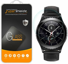 2X Supershieldz Tempered Glass Screen Protector For Samsung Gear S2 Classic 4G