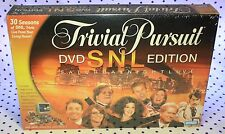 Trivial Pursuit Saturday Night Live SNL DVD Edition Board Game SEALED 30 Seasons