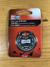 New Champion Taper Gap Gauge CT-481 Spark Plug Tools Ramp Style Feeler Mechanic