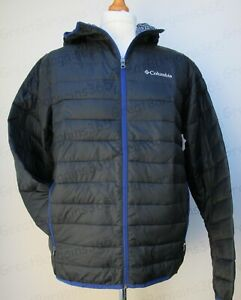 Men's Columbia Ellis River Jacket Thermal Coil Hooded Light Weight S M L XL XXL