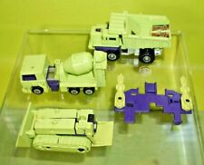 Original Transformers G1 Vintage Devastator Constructicons Lot of 4 Parts