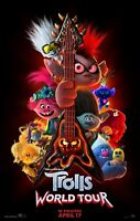 Trolls World Tour movie poster  :  11 x 17 inches