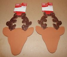 Christmas Foam Ornament Shapes 8 pc Kits & Crafts Reindeer Creatology 147Y