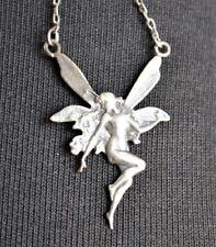 Vintage Sterling 925 FAIRY|PIXIE|Art Nouveau Style PENDANT CHARM for Necklace