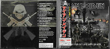 Iron Maiden A Matter Of Life And Death Japan Cd w/Obi TOCP-66616 / Nwobhm Saxon