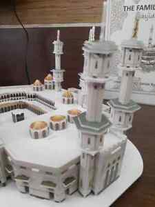 Puzzle 3D Makkah The Holy Haram 3D Puzzle 231 Pieces New Sealed RARE