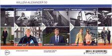 Nederland 2017   Koning Willem Alexander 50jr  blok      gestempeld-cancelled