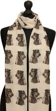 Scarf with Airedales on Airedale dog breed ladies womens fashion shawl wrap