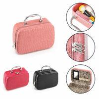 Large Beauty MakeUp Nail Tech Cosmetic Box Jewellery Vanity Case Storage Bag