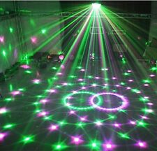 Wonsung Disco Club Bar Magic Ball 6-colors 18W LED Crystal Laser Lighting