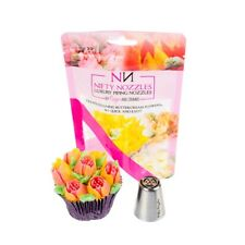 Nifty Nozzles - L - 1 - 6 Petal Tulip  - Genuine Russian Piping Tip  - 1 Nozzle