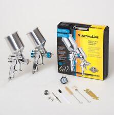 Devilbiss 802343 Startingline Hvlp 2 Gun Painting Amp Priming Kit 13 18 15
