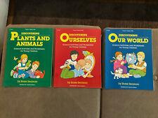 LOT Fearon Science Activities + Sheets for Preschool & Kindergarten DISCOVERING