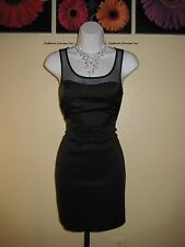 NWT  Arden B. Illusion Mesh Dress Size M