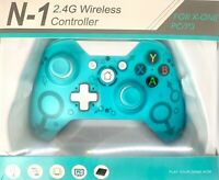 BLUE Wireless Controller For Microsoft Xbox One/S/X/E/Windows 10 PC Enhanced Pad