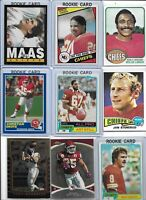 Kansas City Chiefs Vintage Lot of (25) Different w/ Rookies Okoye Gonzalez Still