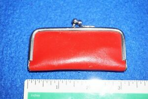 VTG Pocket Manicure Pedicure Travel Kit in Red Case w/5 Tools, Made in Germany
