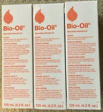 Bio Oil Skincare Oil, 3 pack, 4.2 fl oz bottles, Preowned Unopened Bottles