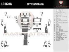 Fits Toyota Solara 2004-2006 Large Premium Wood Dash Trim Kit