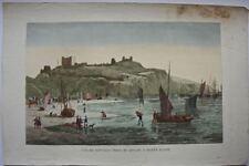 Douvres :  Prise du Rivage à Marée Basse /19éme