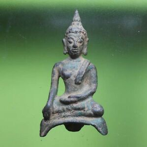 OLD THAI BUDDHA STATUE AMULET STATUE PHRA AYUTTHAYA VERY NICE