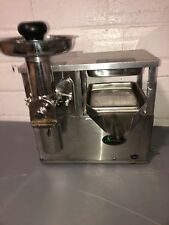 Norwalk 280 Cold Press Commercial Hydraulic Juicer Stainless Steel Heavy Duty