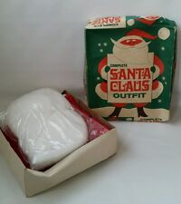 Vintage Rare New Old Stock Complete Santa Claus Outfit 1960s w/ Original Box