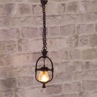 1/12 Scale Dolls House Emporium Victorian 'Gas' Hanging Ceiling Light 12V 2514