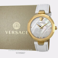 Authenti Versace Ladies Idyia Genuine Leather Strap Watch V17050017