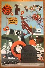 South Park Who Killed Kenny 1997 Rare Vintage Poster 22 x 34.5