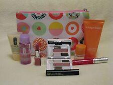 Clinique Deluxe Set - Lip Pop, Glosswear, Happy Perfume, Shadow & Blush Palette