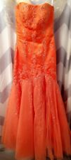 Precious Formals Prom/Pageant Mermaid Dress Size 6