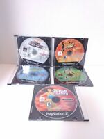 5 Dancing PS2 Disc Only Games - Dance Factory & 4 Dance Dance Revolution Games