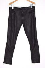 *STUNNING* AllSaints Ladies HARRAH Pipe Skinny Leather trousers 27