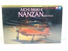 1997 Tamiya Aichi M6A1-K Nanzan Seiran Kai War Bird Collection 1:72 Kit # 60738