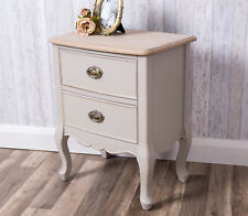 Grey Blue Bedside Table Bedroom Antique French Lamp Side End Unit Furniture Home