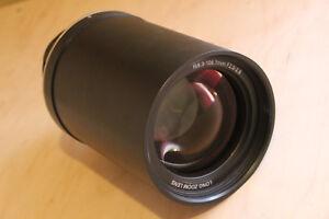 Sanyo LNS-T50 Long Throw Projector Lens, Christie 103-121105-XX, EIKI AH-43007T