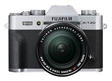 New FUJIFILM mirrorless interchangeable X-T20 Lens Kit Silver X-T20LK-S