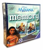 21244 Ravensburger Disney Moana Mini Memory Snap Card Game Children Kids 3+