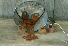 Basket Weaving Supplies ~ 24 Rusty Tin Basket tie-ons