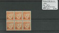 Mozambique 1933 SG.350 Block U/M