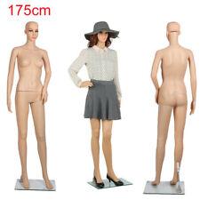 More details for full body dummy mannequin retail dressmaker lady female shop window display uk