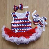 "Clothes For 22"" Newborn Reborn Dolls Baby Girl Dress + Headdress + Shoes Gift @@"