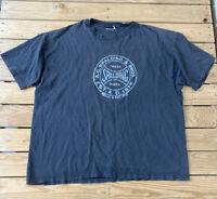 Vintage Spalding Single Stitch Men's Short Sleeve t Shirt Size L Faded Black D1