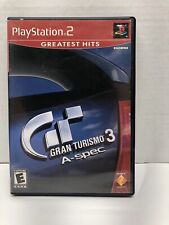 New ListingGran Turismo 3 A-spec Playstation 2 ( Ps2 2002) Complete Tested Greatest Hits