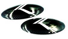 "2pc SET ""VINTAGE K"" METAL SKIN Emblem Badge OVERLAY FOR KIA OPTIMA 2011-2013"