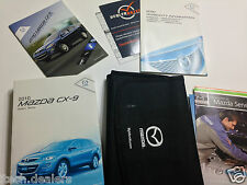 2010 Mazda CX-9 Owner's Manual Owner Book &  Case
