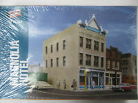 Walthers USA 3462 Magnolia Hotel Town House Kit Plastic